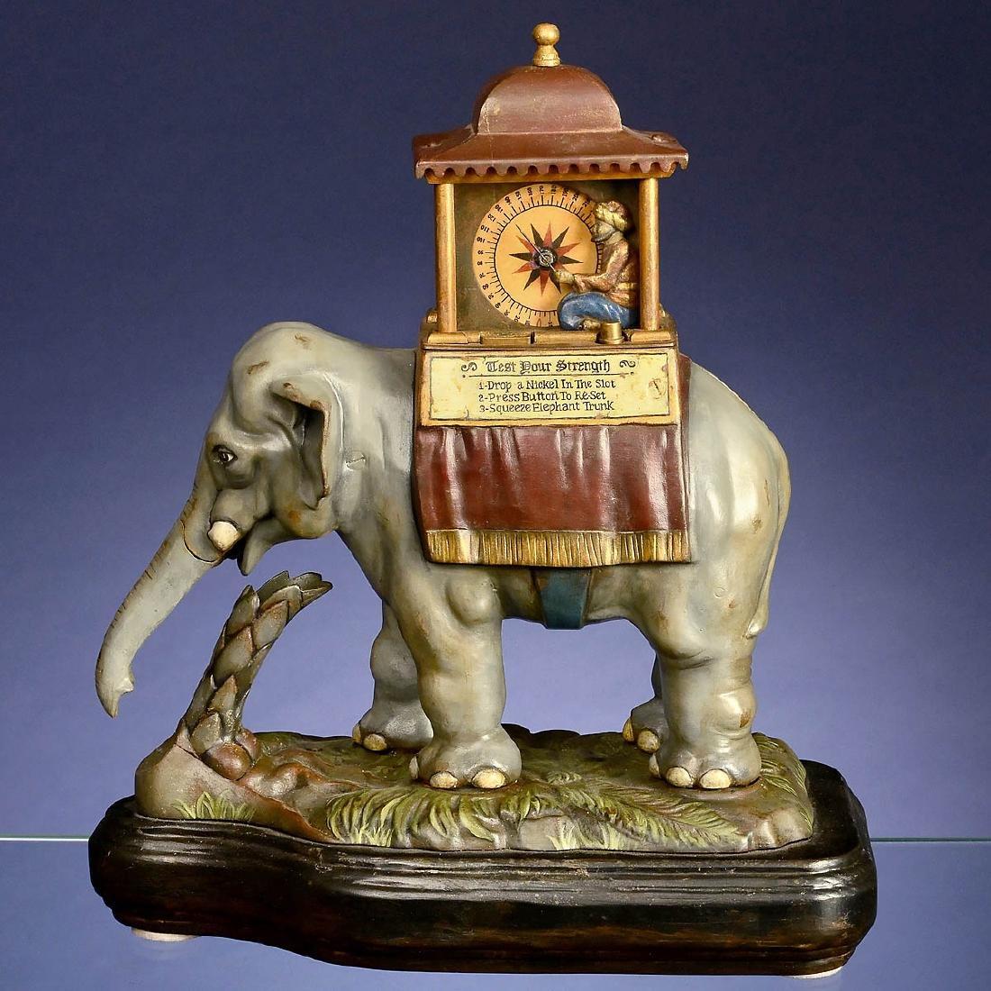 "Strength Tester ""Elephant Grip Test"", c. 1895"