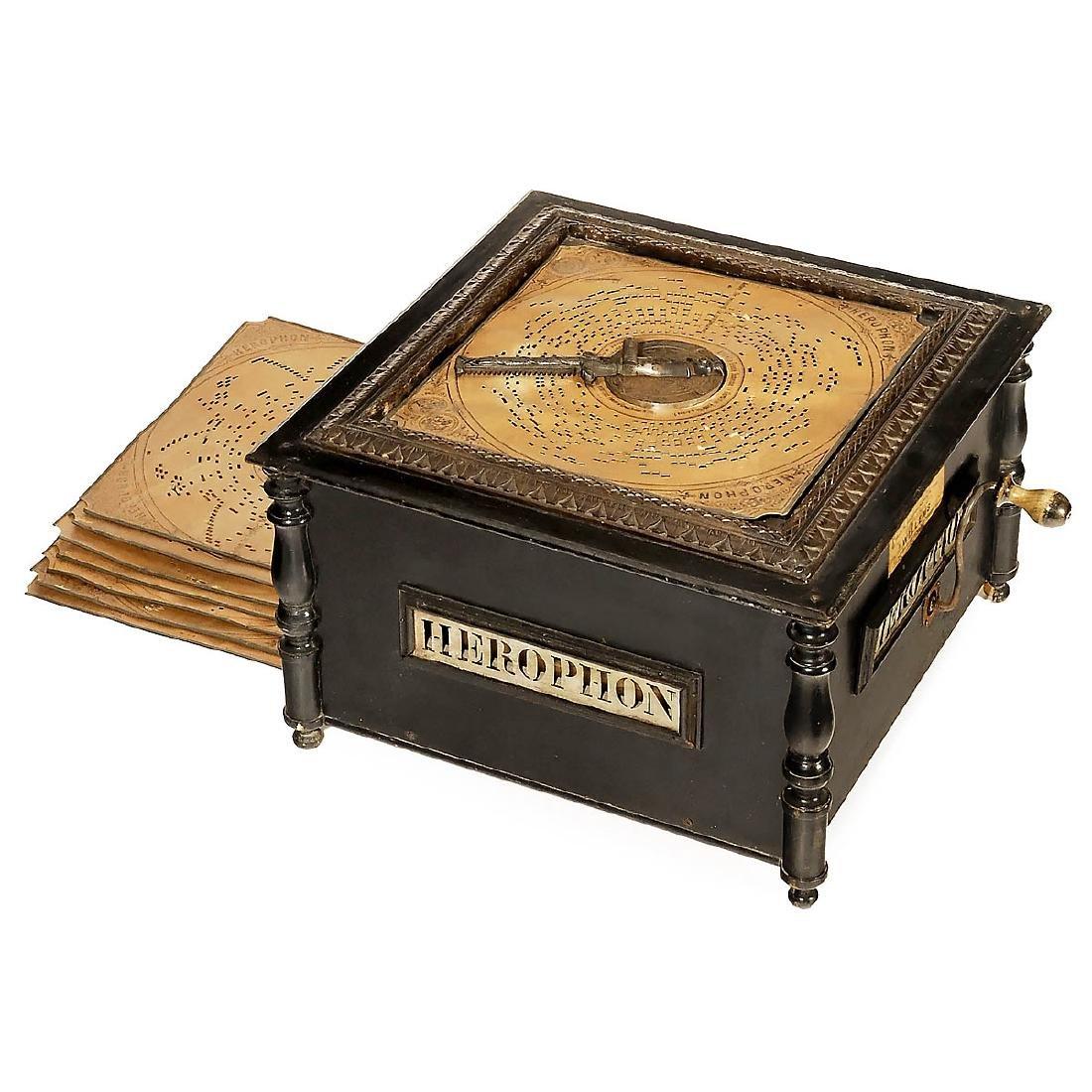 Herophon Organette, c. 1905