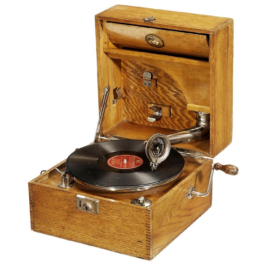 Beltona Portable Gramophone, c. 1925