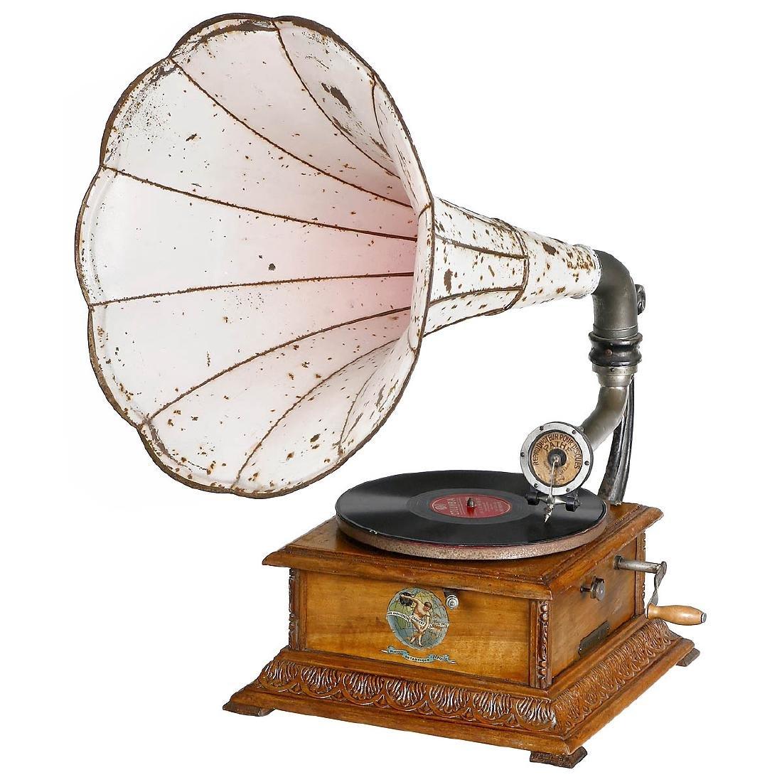 Pathéphone No. 4 Horn Gramophone