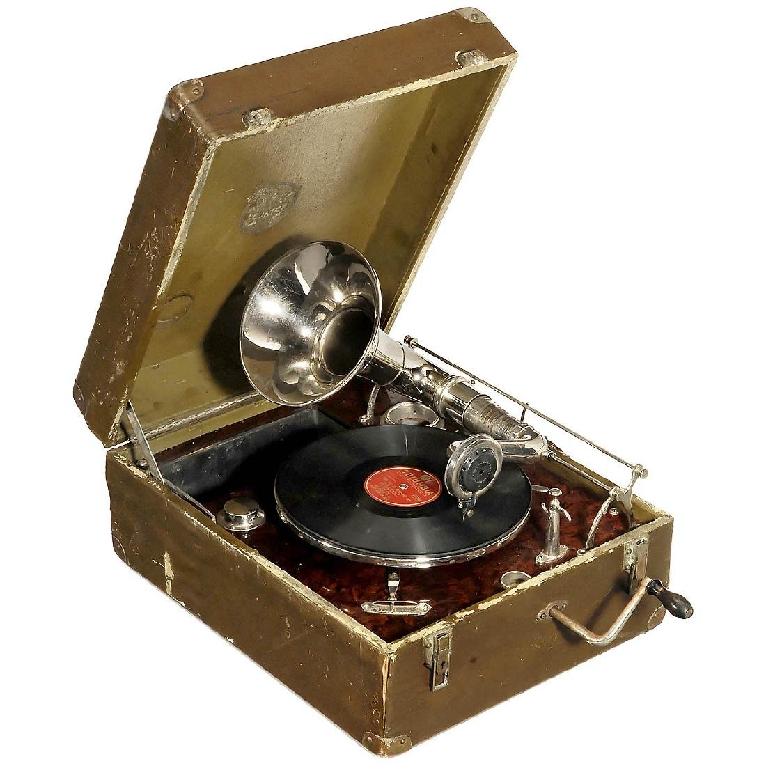 Gramophone with Tangential Tonearm, c. 1925