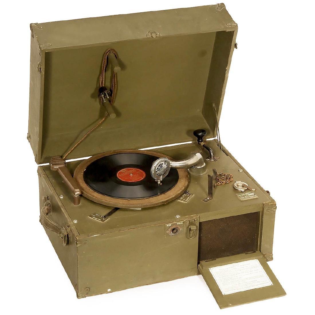 U.S. Army Field Gramophone, c. 1942