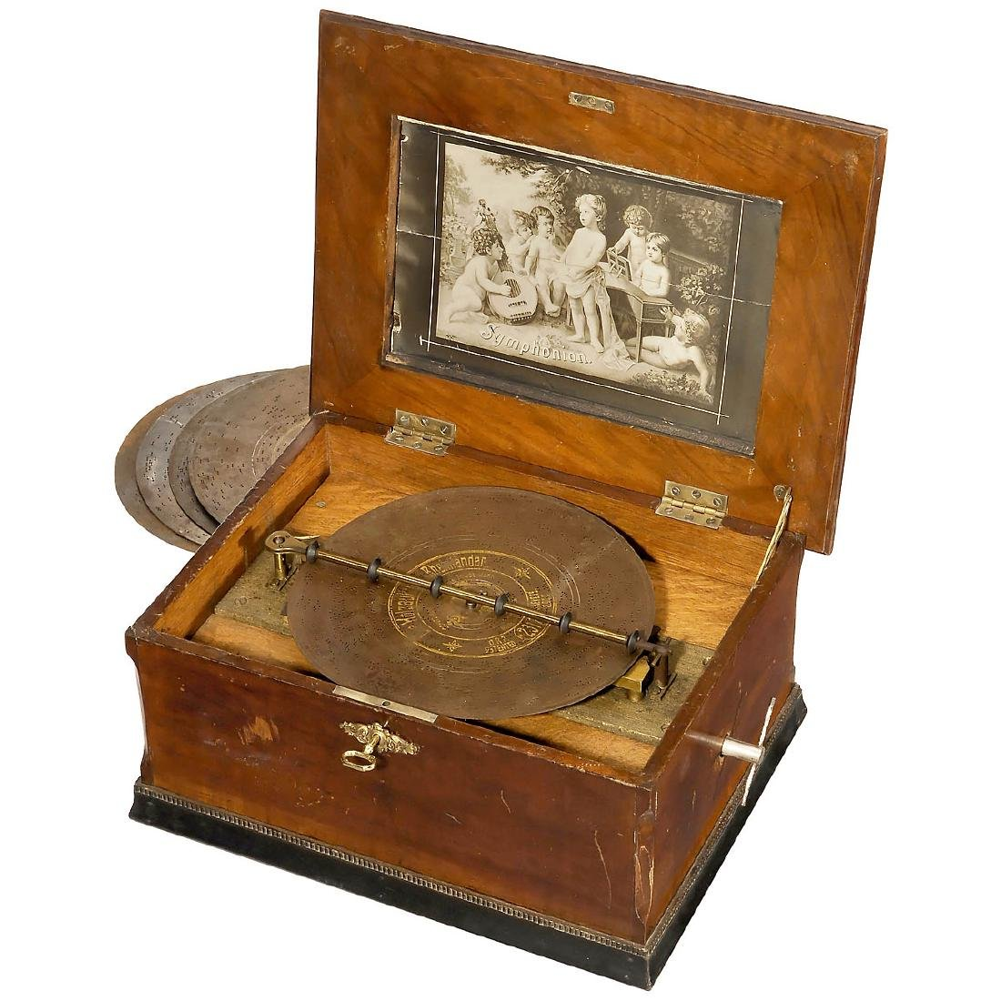 Symphonion No. 6N Disc Musical Box, c. 1900
