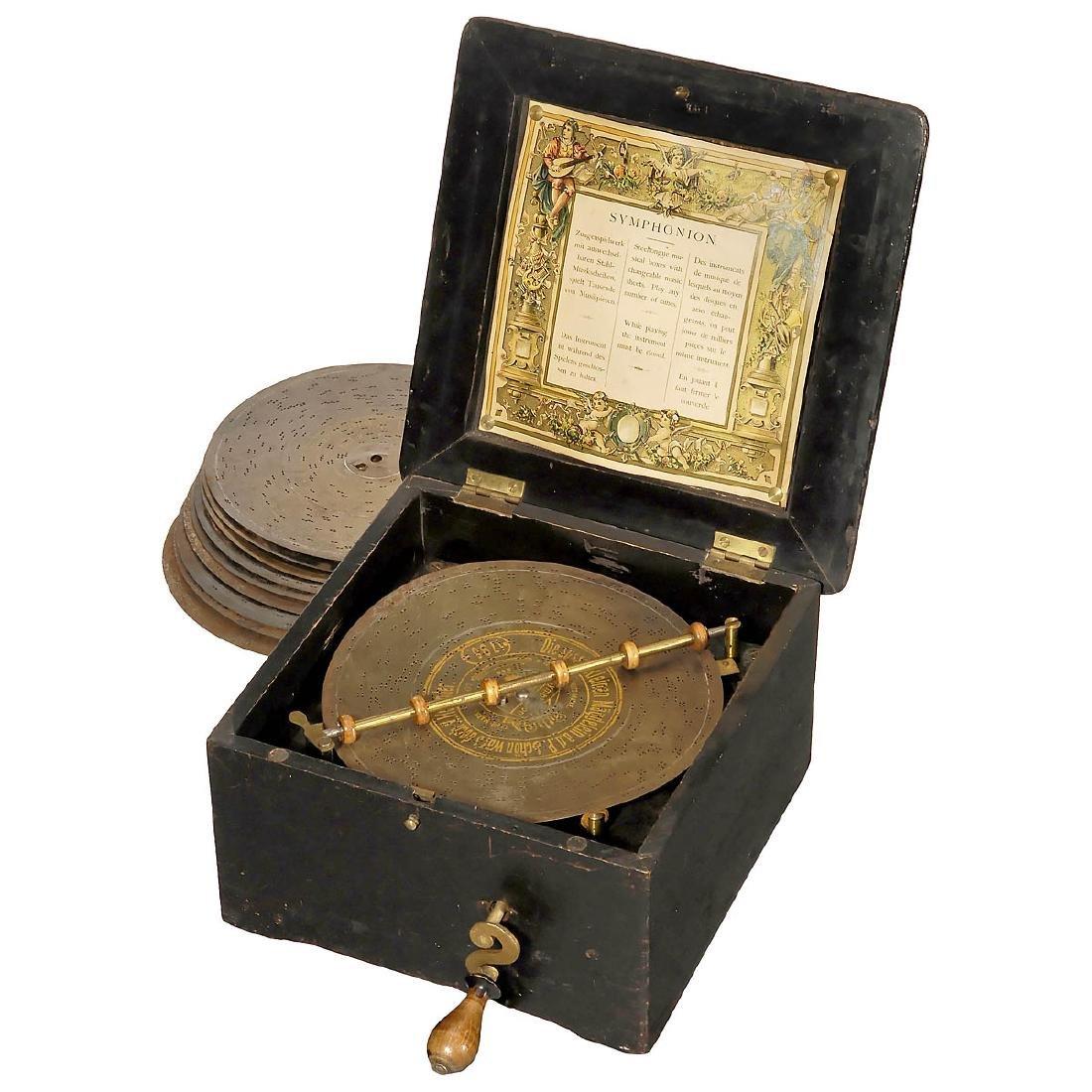 Symphonion No. 4 Manivelle Disc Musical Box, c. 1900