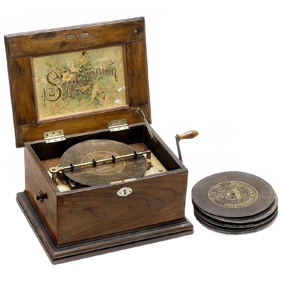 Symphonion No. 2 Disc Musical Box, c. 1900
