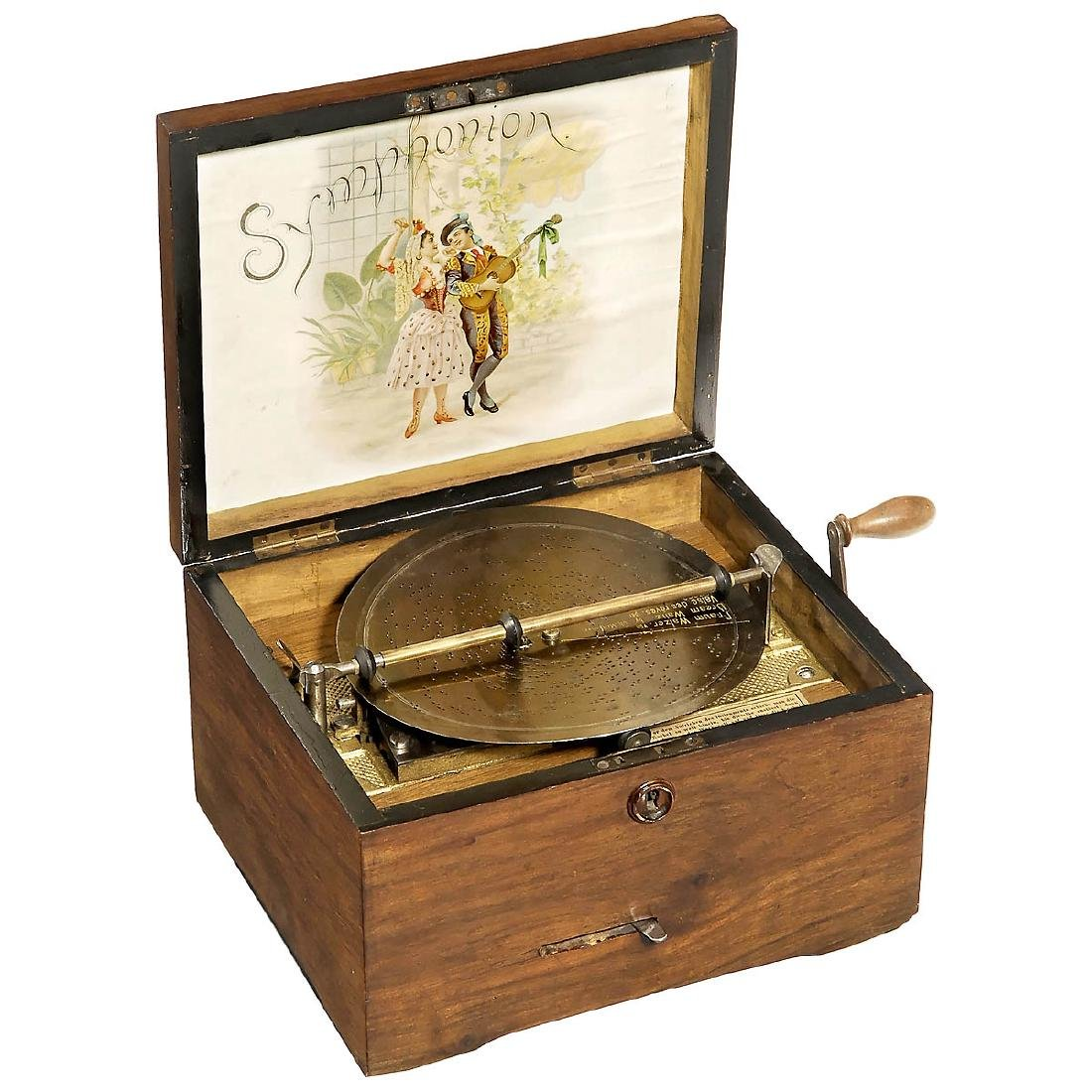 Symphonion No. 10 Disc Musical Box, c. 1900