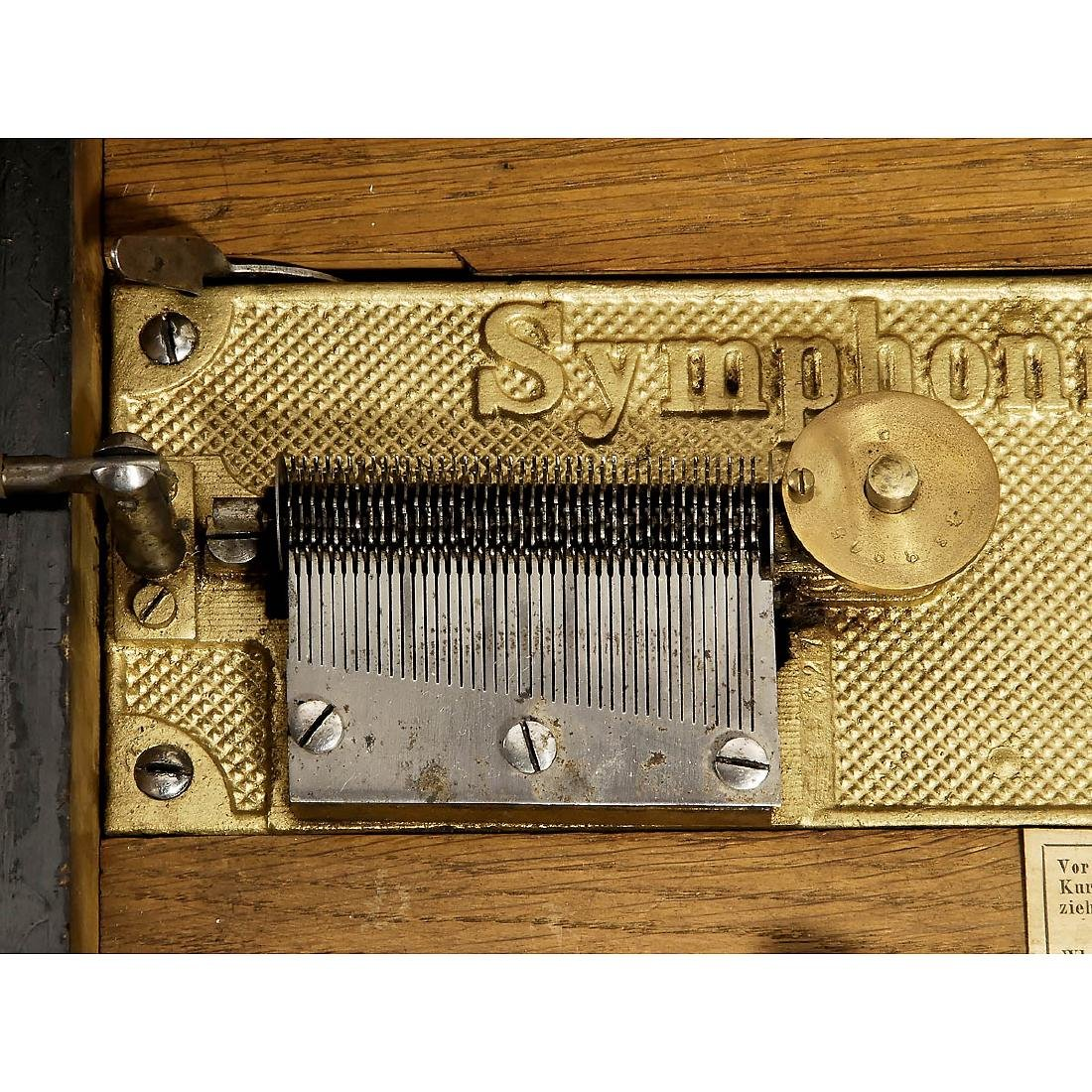 Symphonion No. 10 Disc Musical Box, c. 1900 - 2