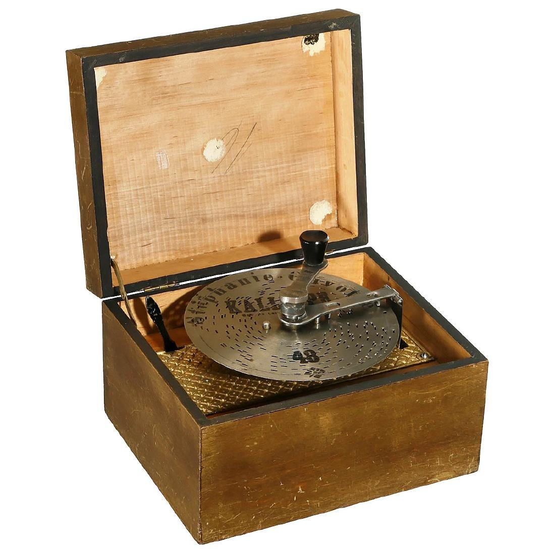 Kalliope Disc Musical Box, c. 1900
