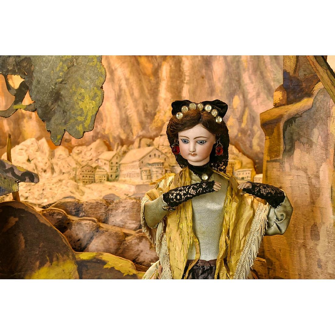 Catalan Dancer Automaton Working Model by Gustave Vichy - 3