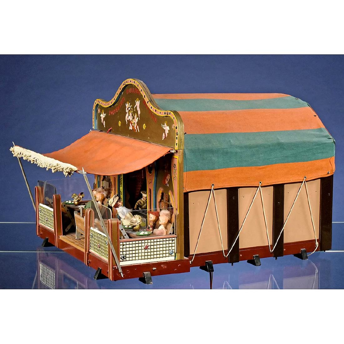Large Funfair Doll House
