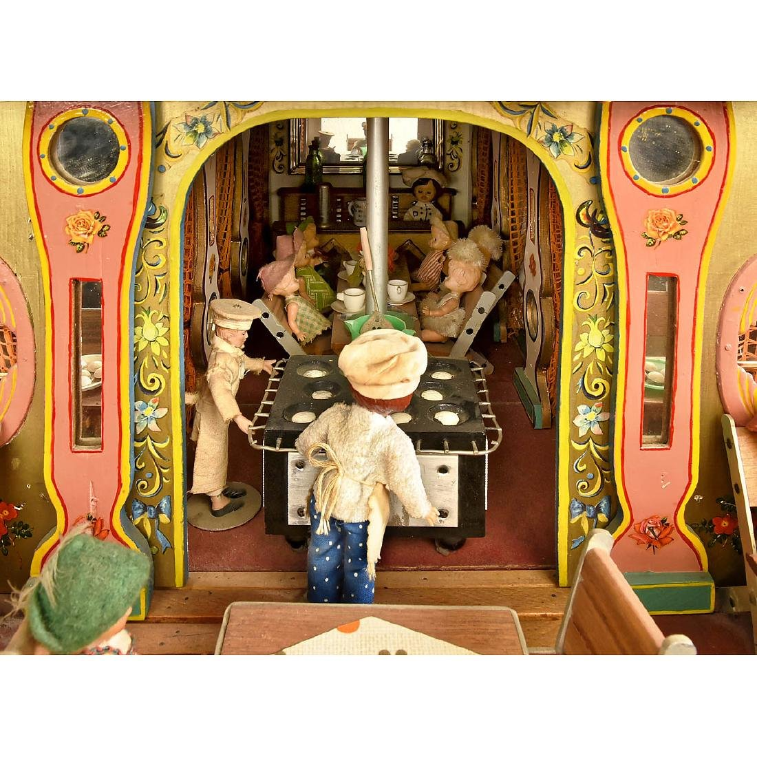 Large Funfair Doll House - 3