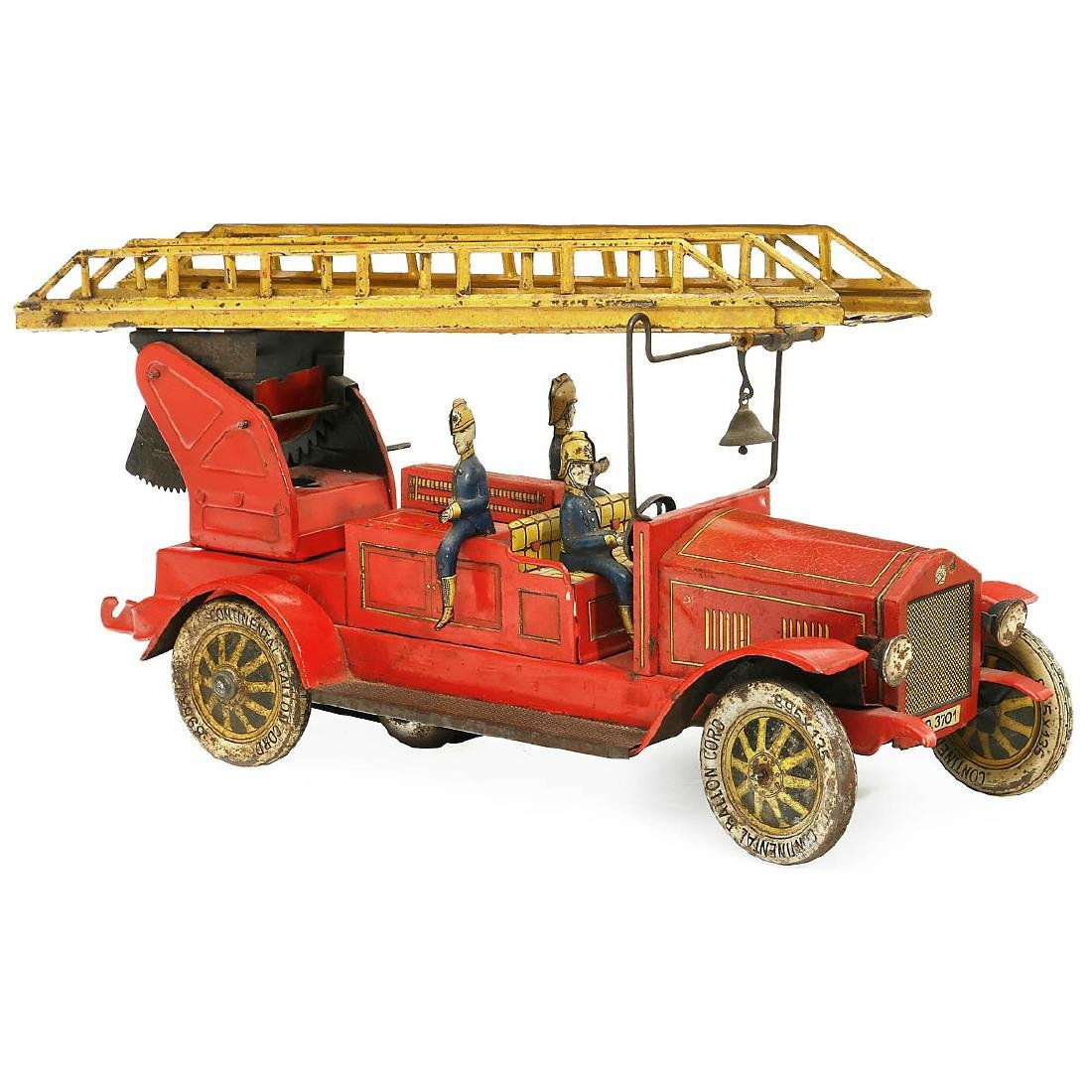 Large Distler Fire Brigade Toy, c. 1930