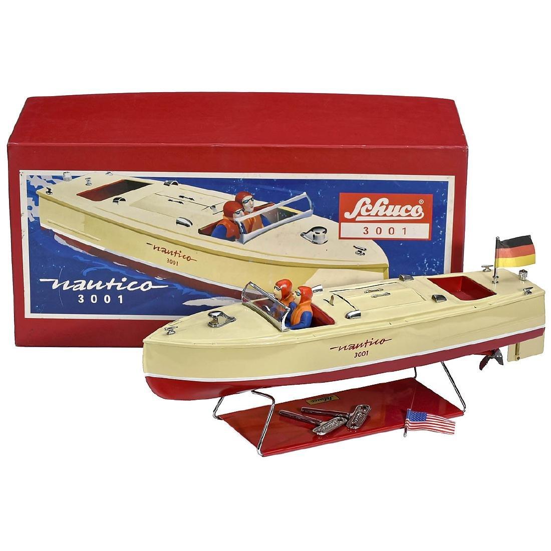 Schuco Nautico 3001 Motor Boat, c. 1990
