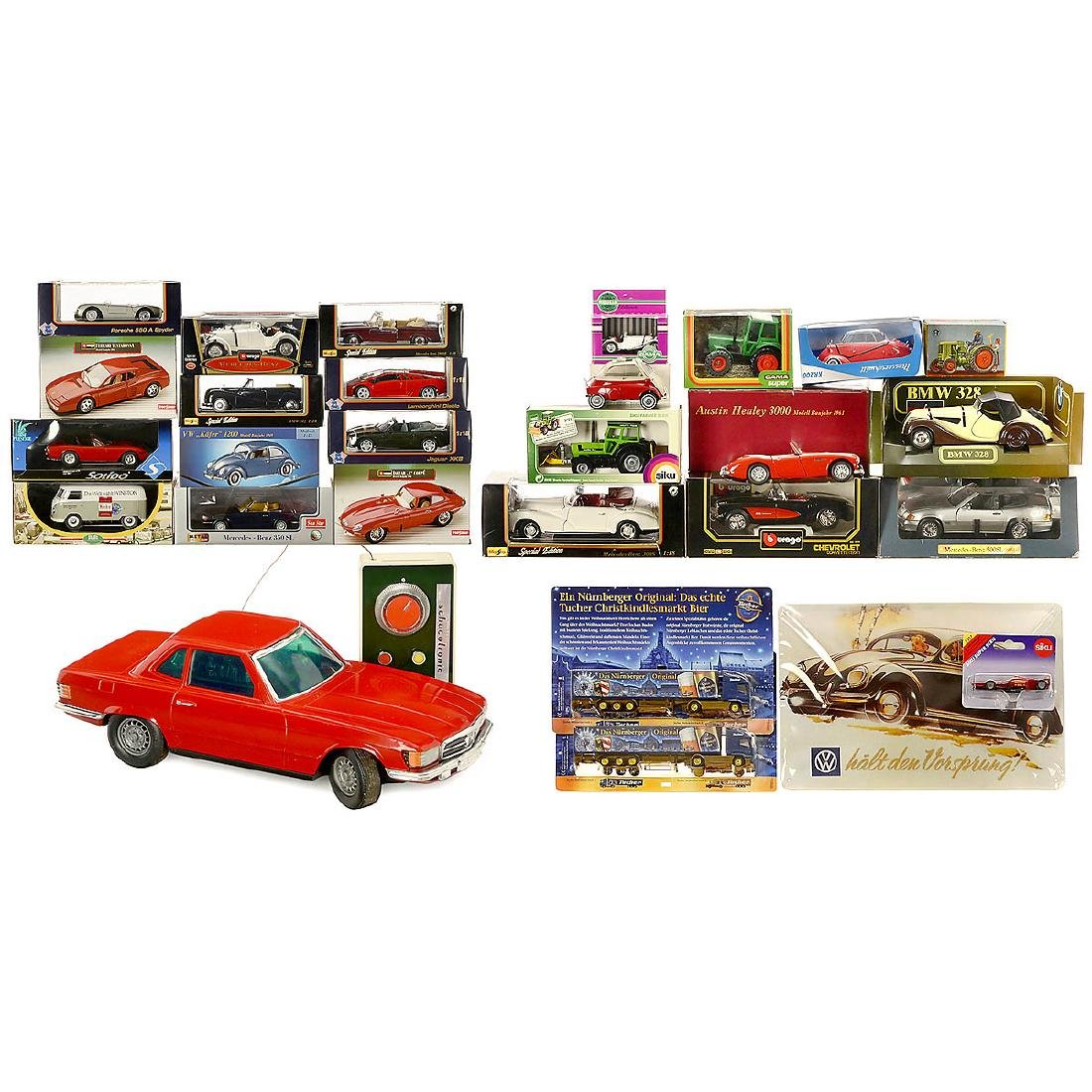 Group of Scale1:18 Model Cars