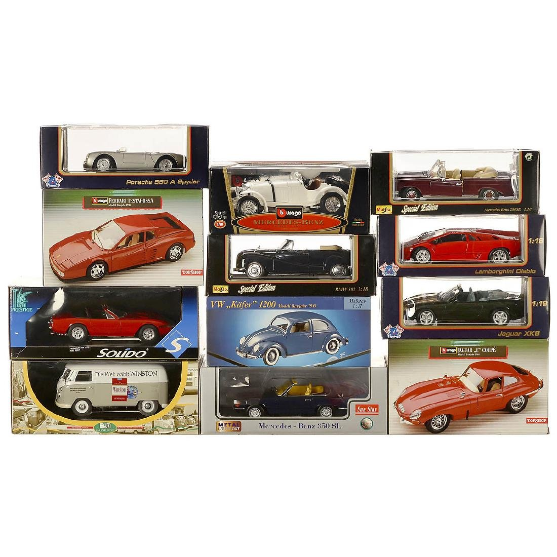 Group of Scale1:18 Model Cars - 2