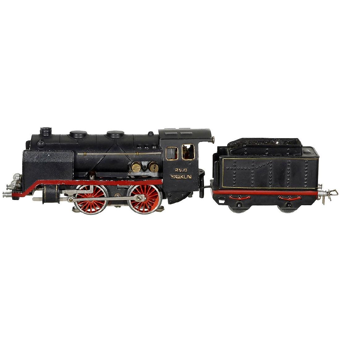 Märklin R 800 Steam Locomotive, c. 1940 - 2