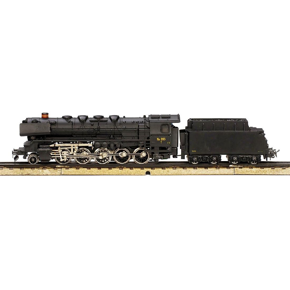 Märklin No. 3045 Danish Steam Locomotive, c. 1975 - 2