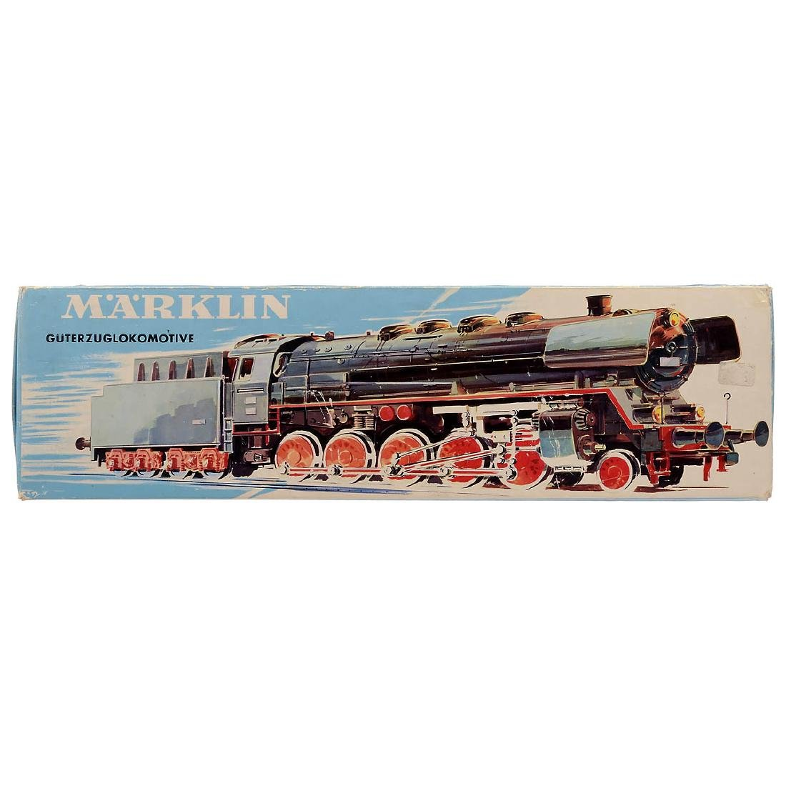 Märklin No. 3045 Danish Steam Locomotive, c. 1975 - 3