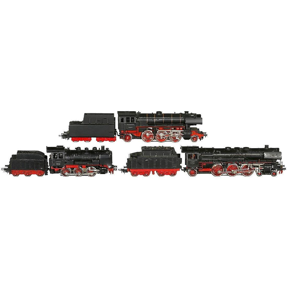 3 Märklin Steam Locomotives Gauge H0