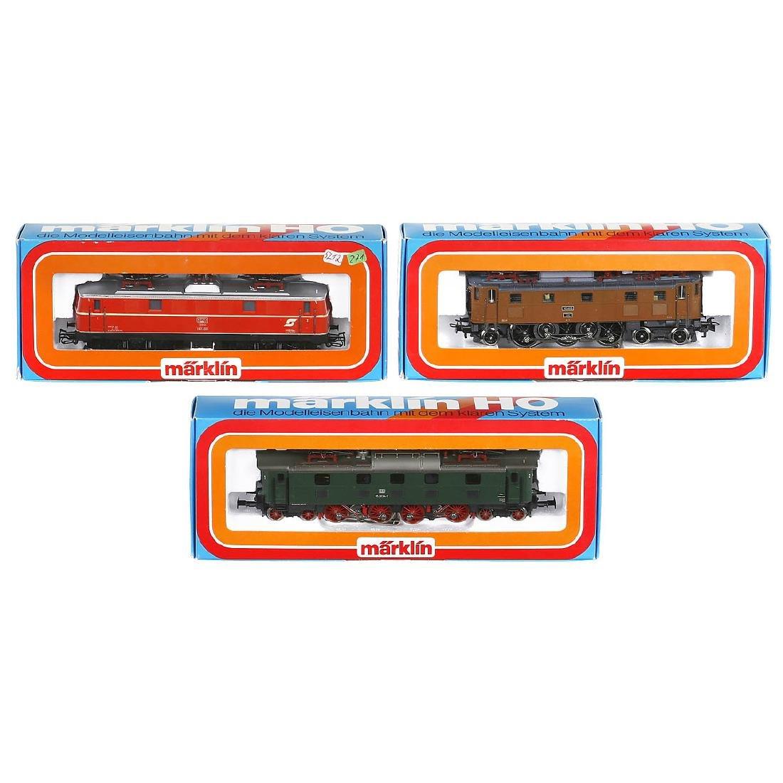 3 Märklin Electric Locomotives