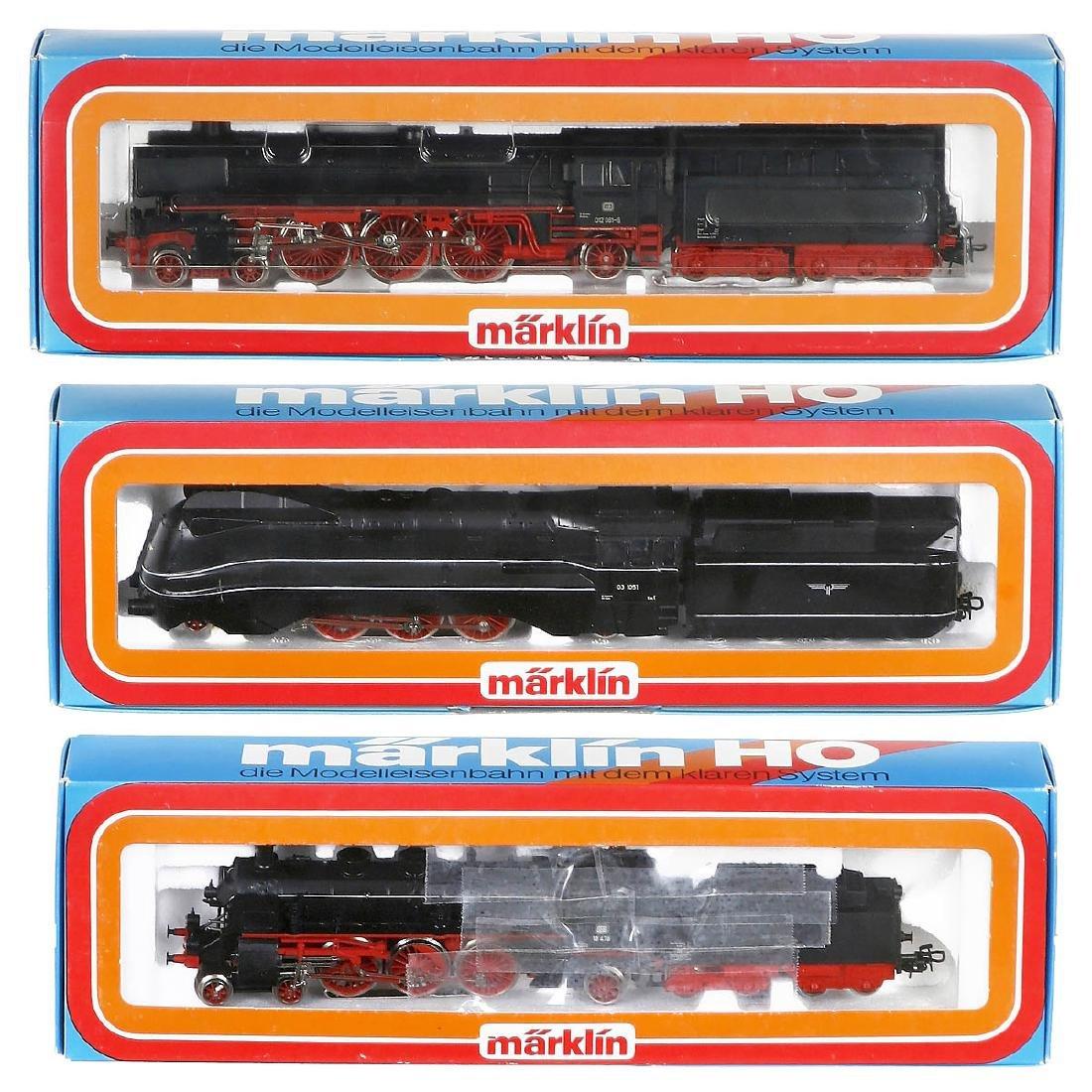 3 Märklin Stam Locomotives, c. 1980