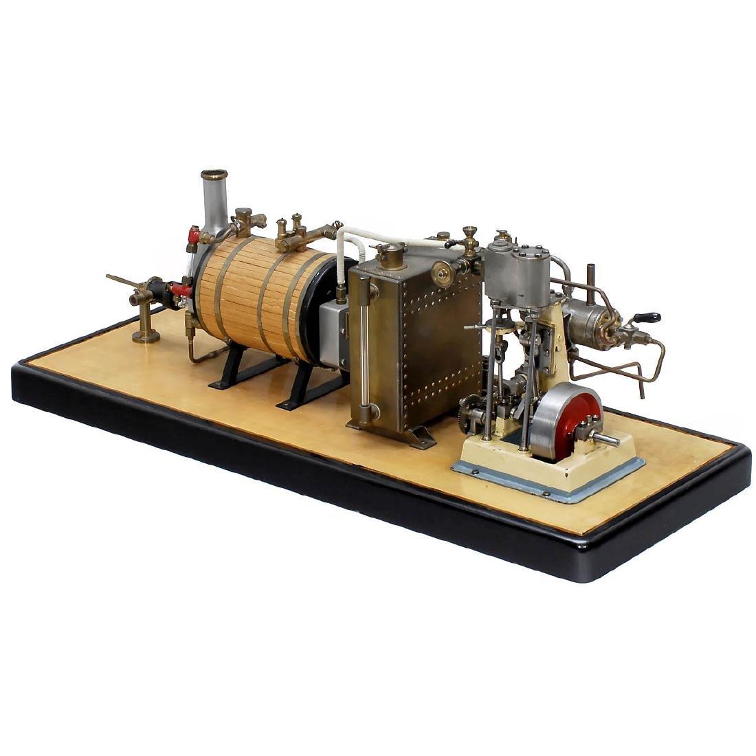 Steam Ship Engine Precision Model
