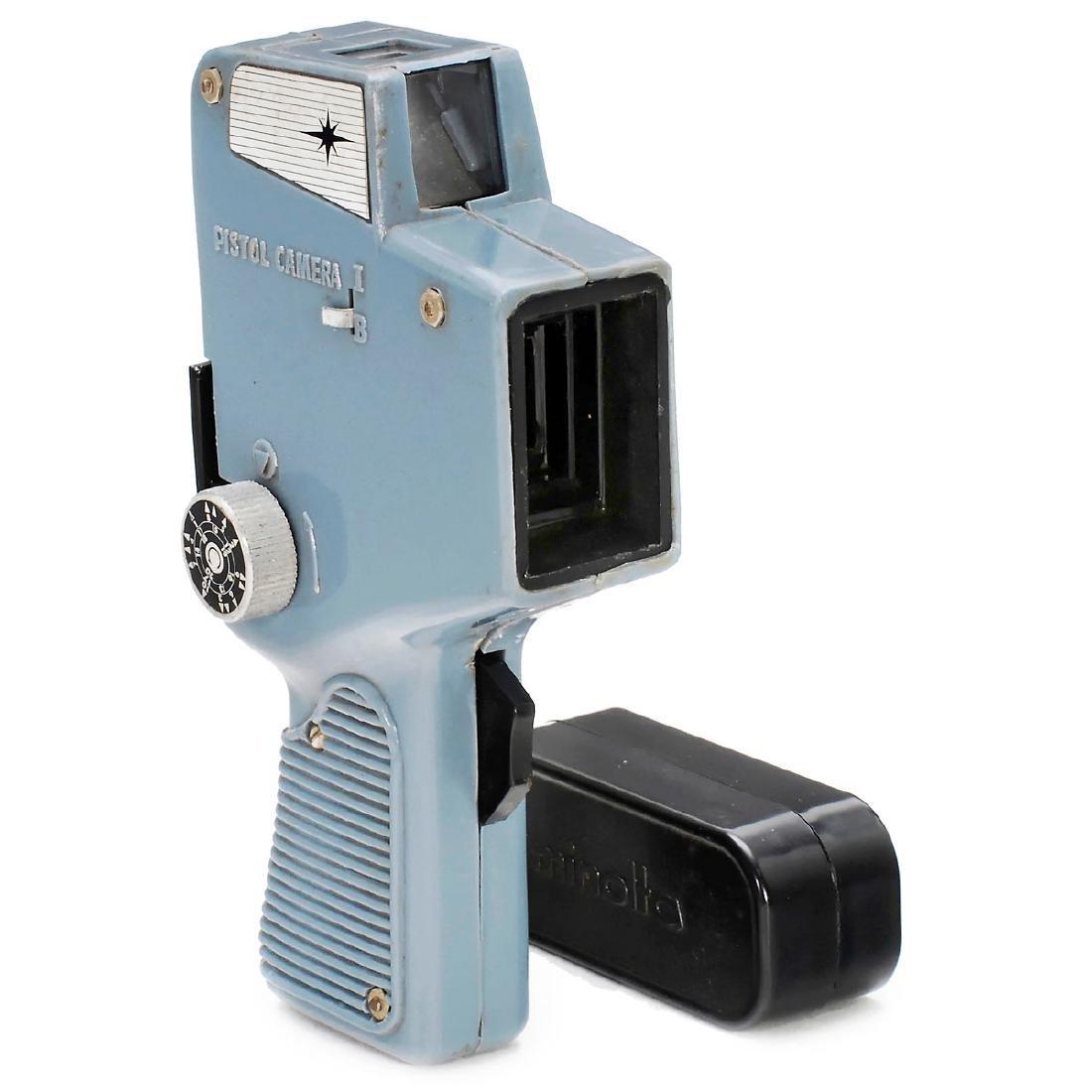 "Extremely Rare ""Glico Pistol Camera"", 1964"