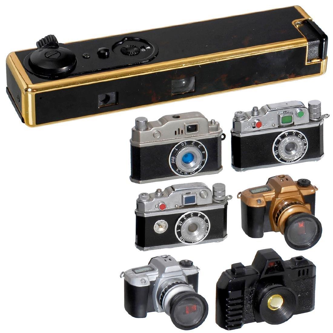 Supra Fotolite and Camera Pocket Lighters