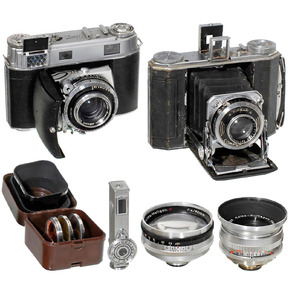 Kodak Cameras and Lenses