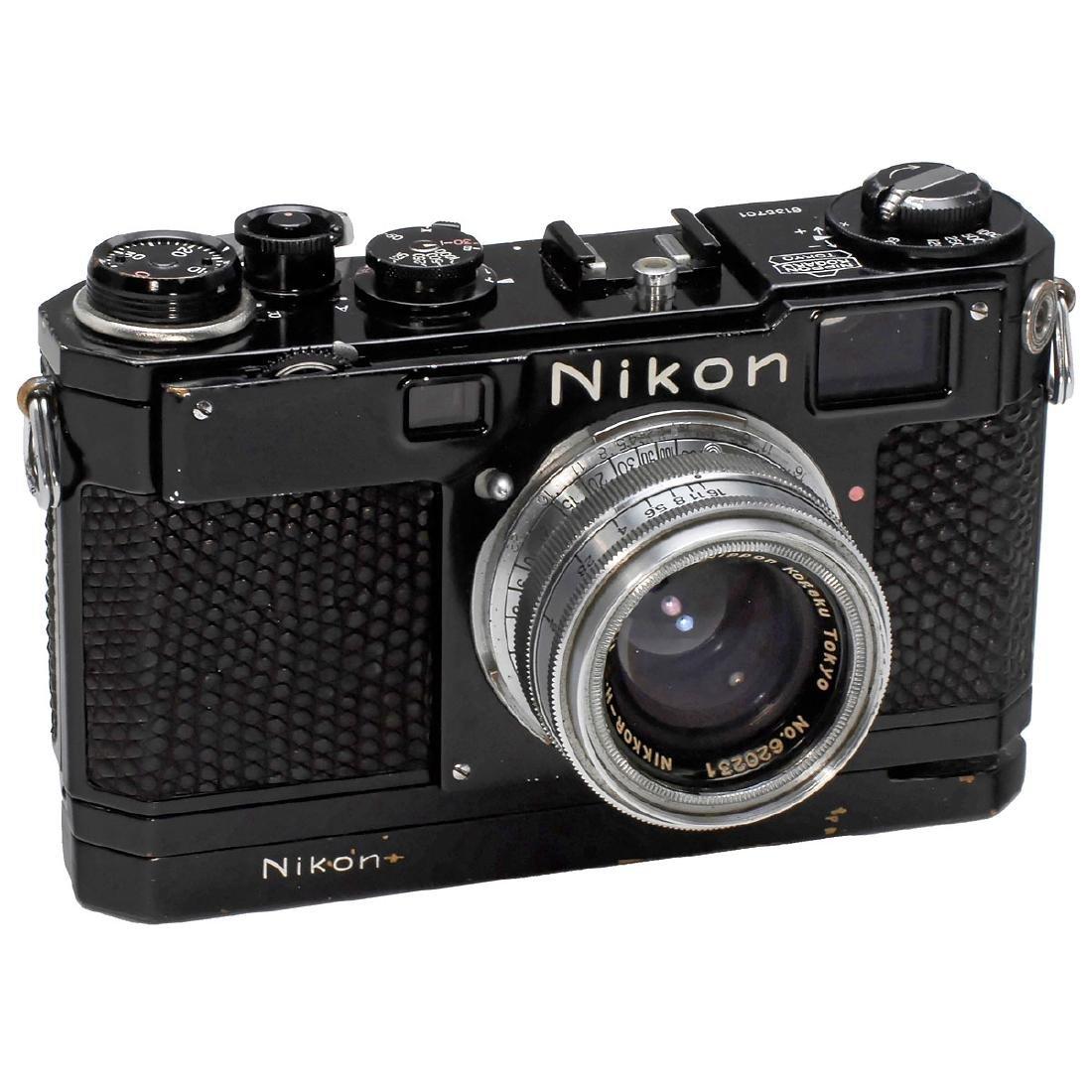 Nikon S2 Black, December 1954
