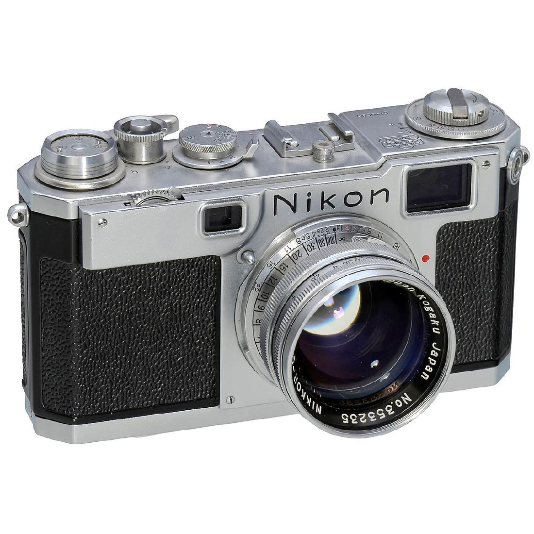 Nikon S2 with Nikkor-S.C 1,4/5 cm, 1954