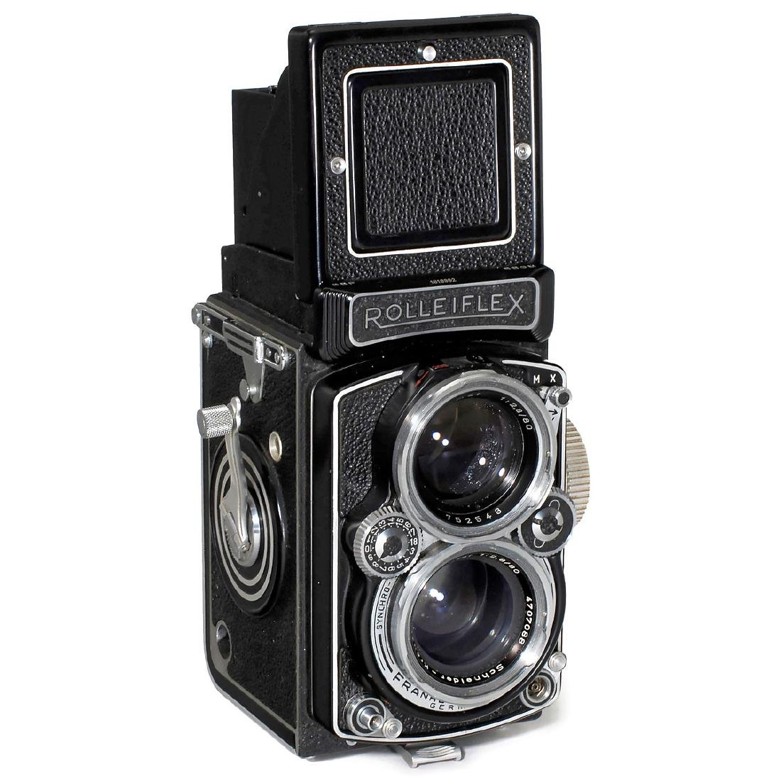"""Rolleiflex 2,8 D """"Xenotar"""", 1955"""