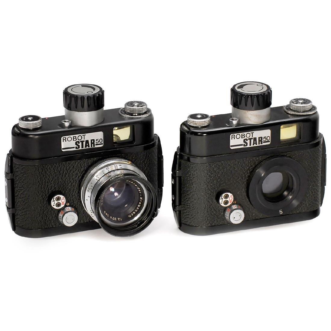 2 Robot Star 50 Cameras, 1969
