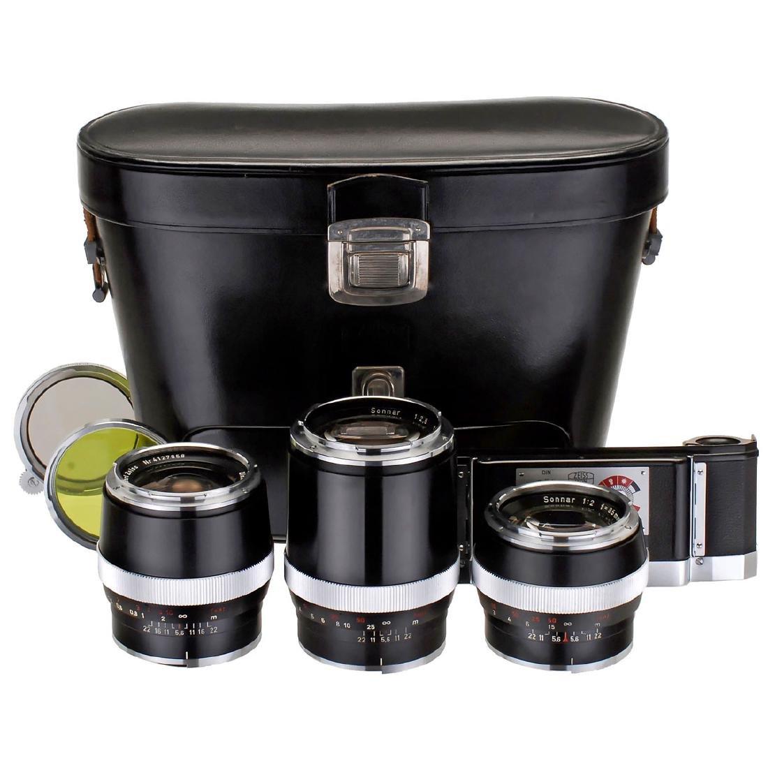 Lens Set for Contarex, c. 1970