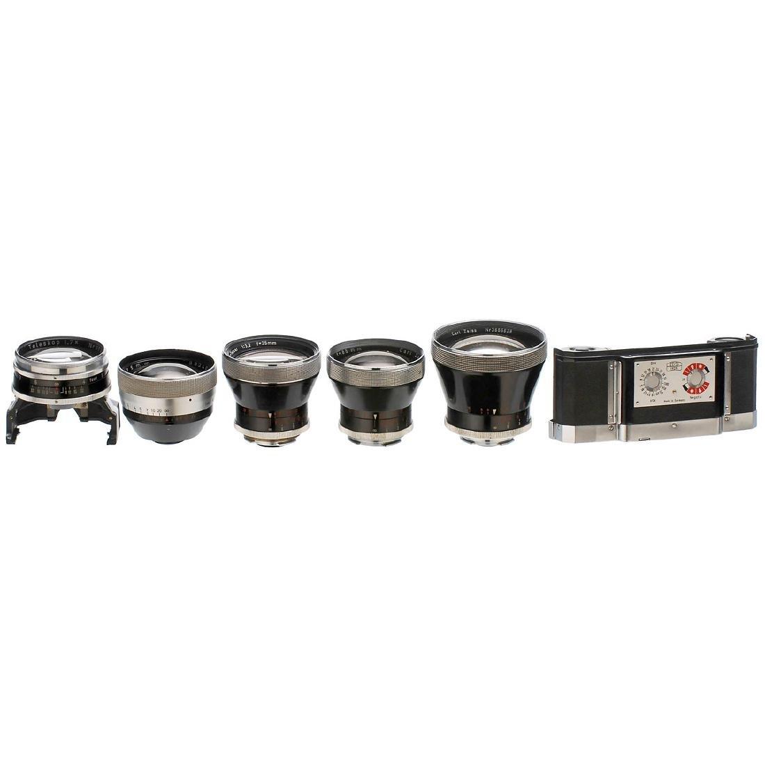 5 Zeiss Lenses