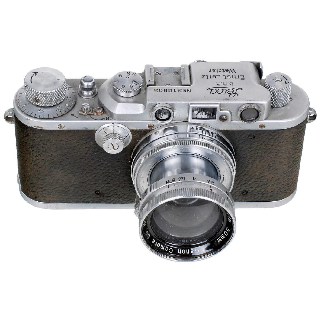 Leica III (F) with Serenar 1,9/50 mm, 1936
