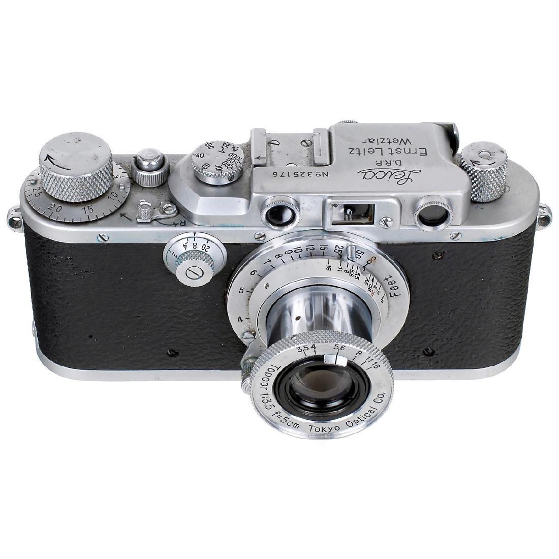 Leica IIIa (G) with Topcor 3,5/5 cm, 1939