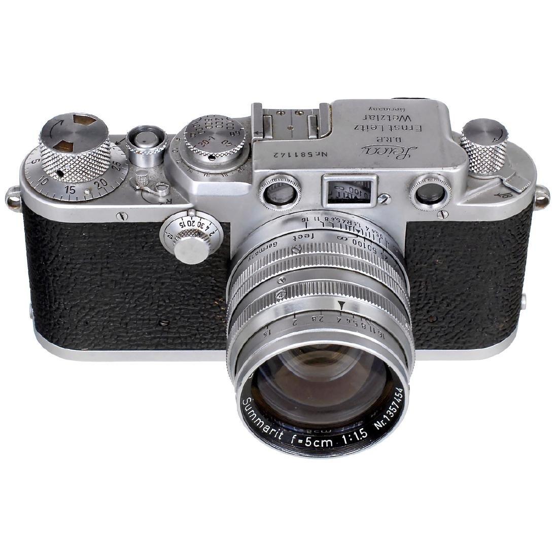 Leica IIIf with Summarit 1,5/5 cm, 1951