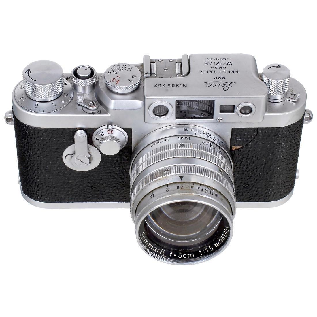 Leica IIIg with Summarit 1,5/5 cm, 1957