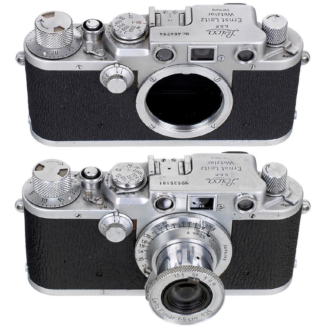 2 x Leica IIIf