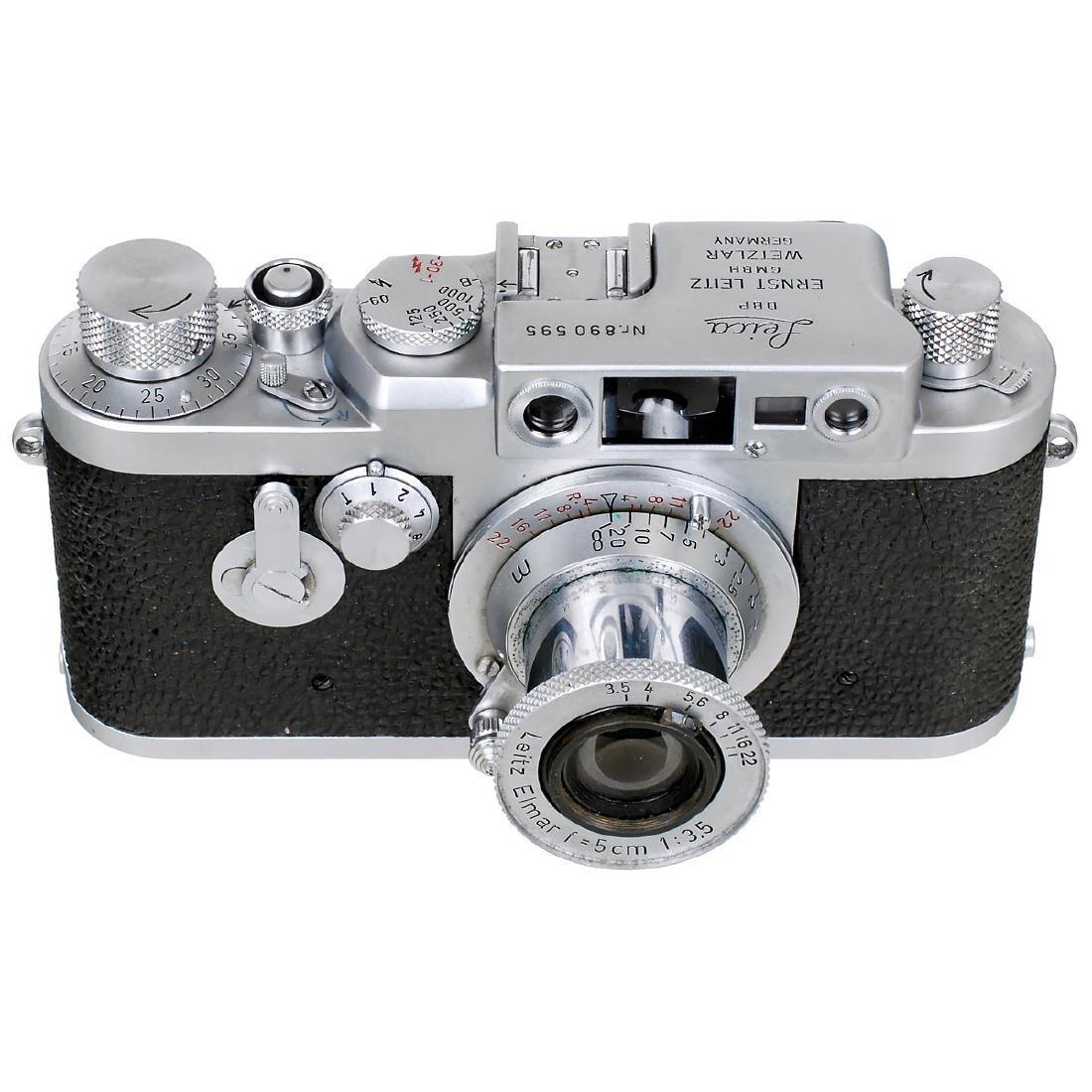 Leica IIIg with Elmar 3,5/5 cm, 1957