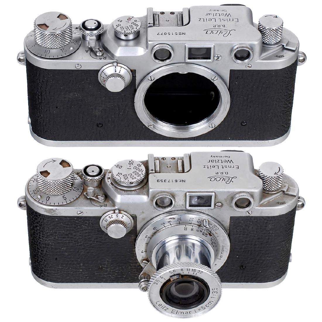 Leica IIIc and Leica IIIf