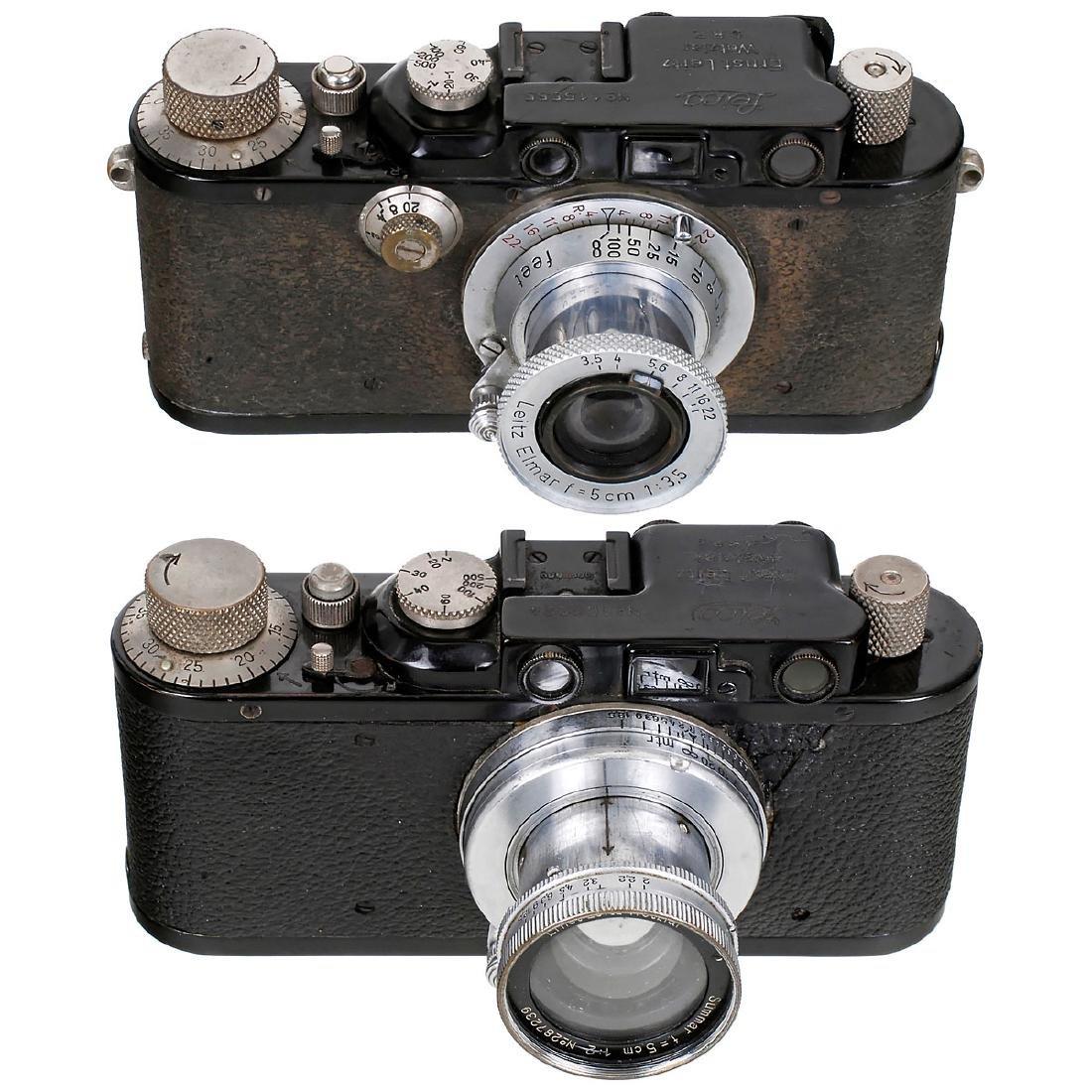 Leica II (D) and Leica III (F)
