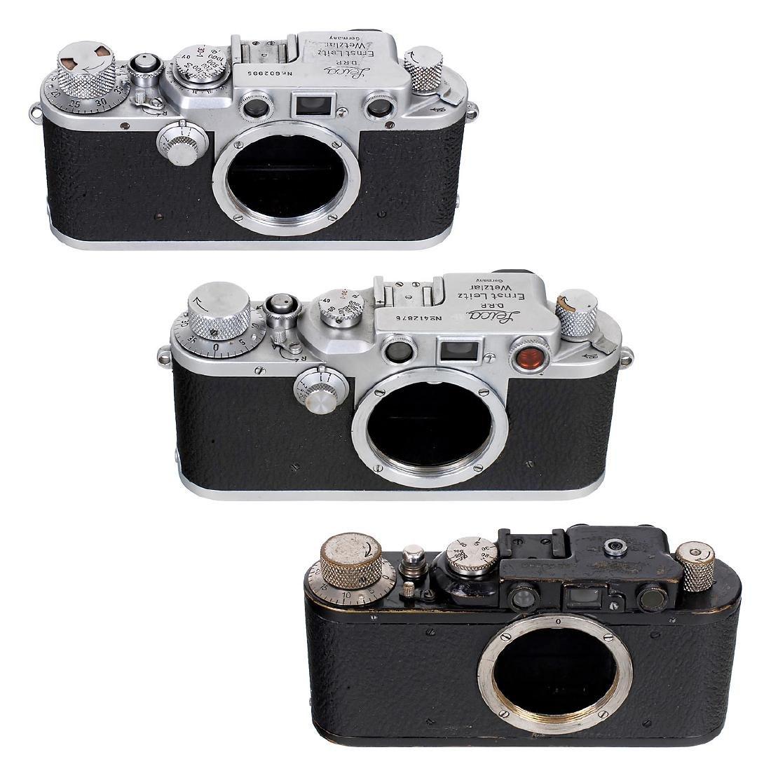 Leica II, IIIc and IIIf