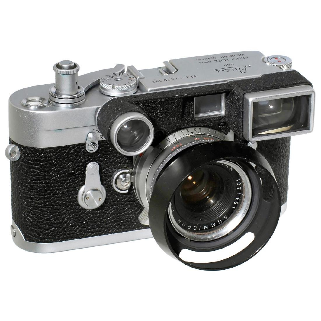 Leica M3 with Summicron 2/35 mm, 1963