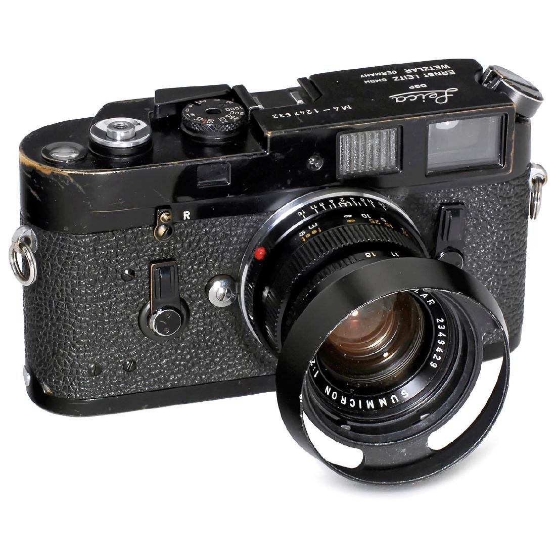 Leica M4 (Black Paint) with Summicron 2/50, 1969