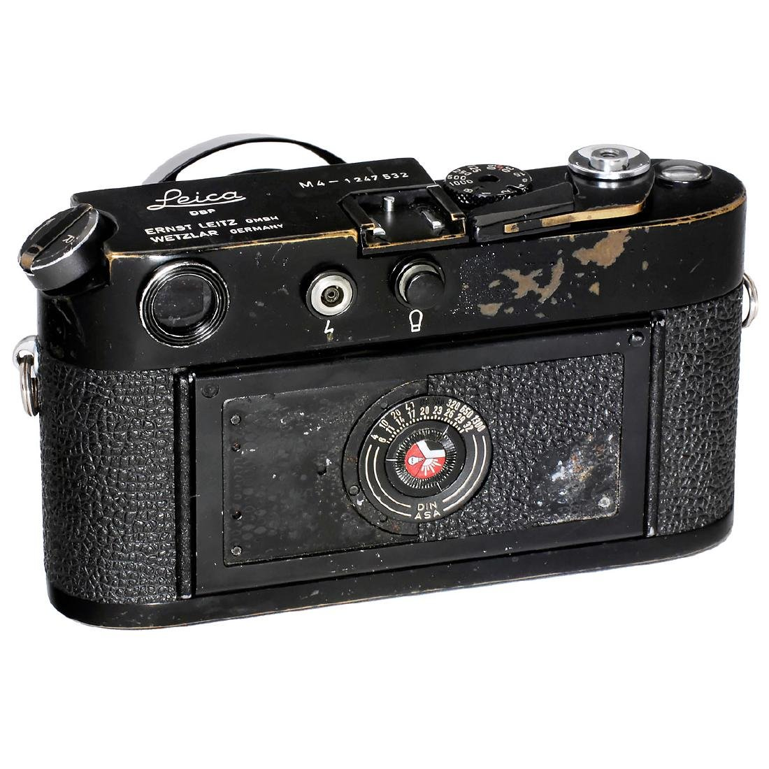Leica M4 (Black Paint) with Summicron 2/50, 1969 - 2