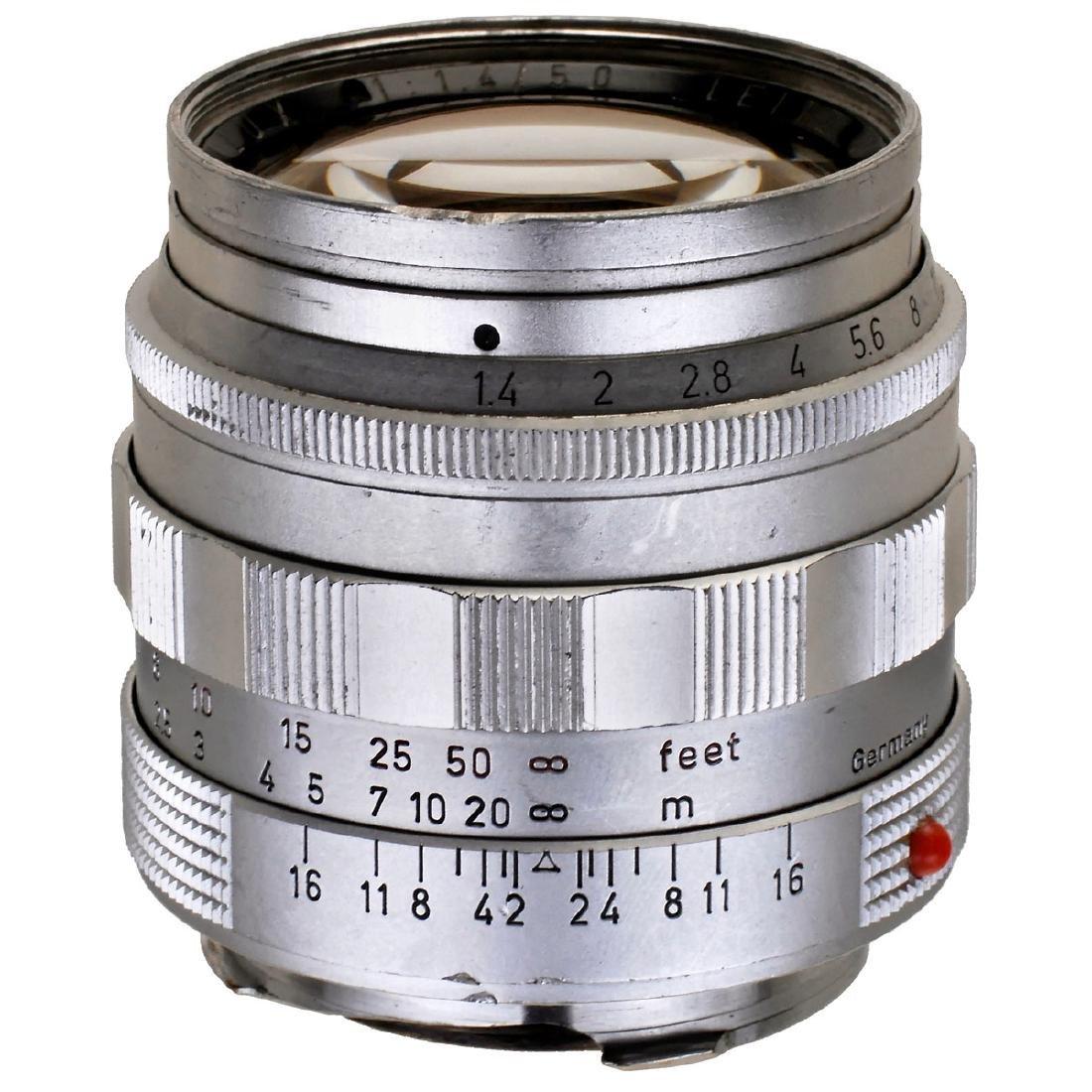 Summilux 1,4/50 mm, 1959