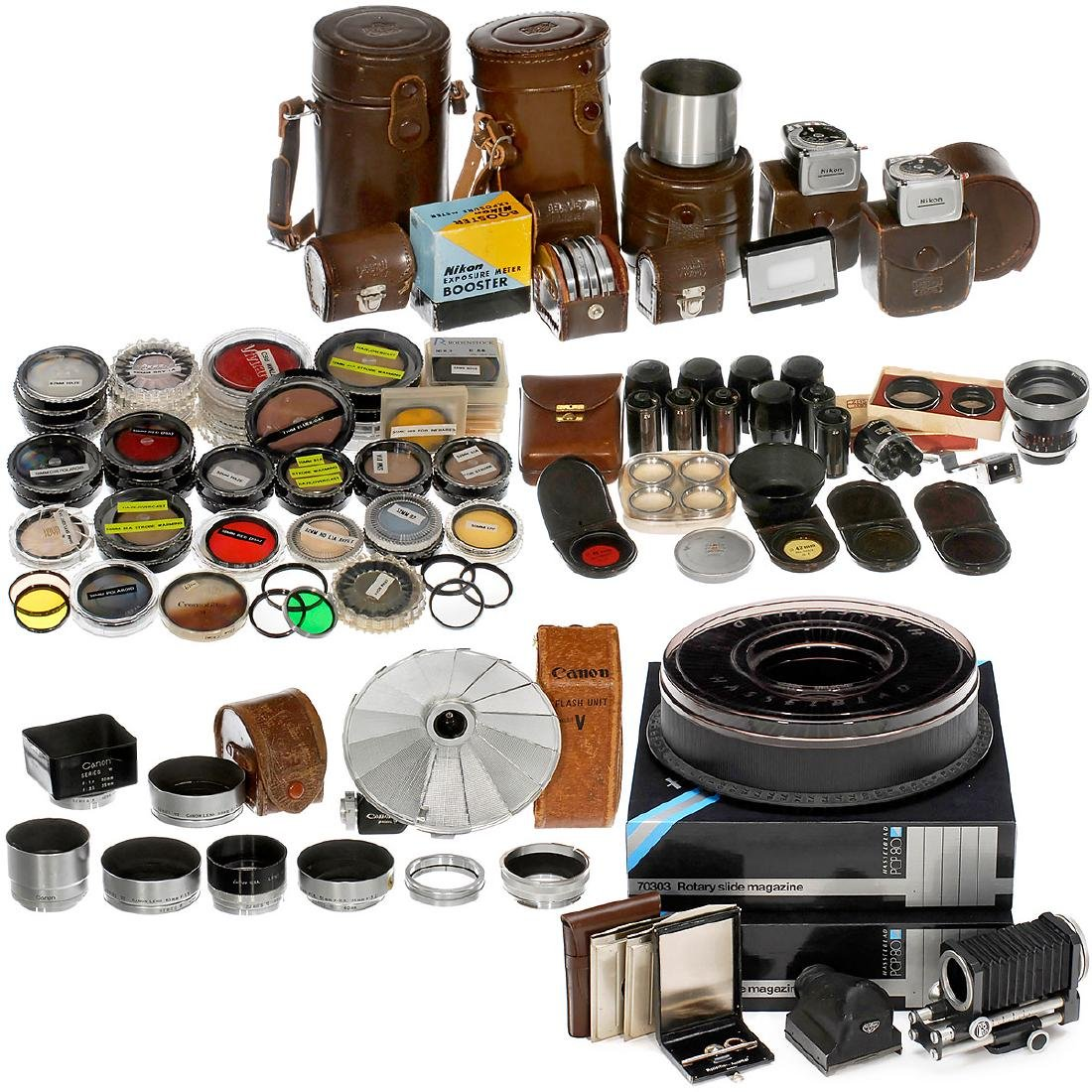 Large Lot of Filters and Accessories