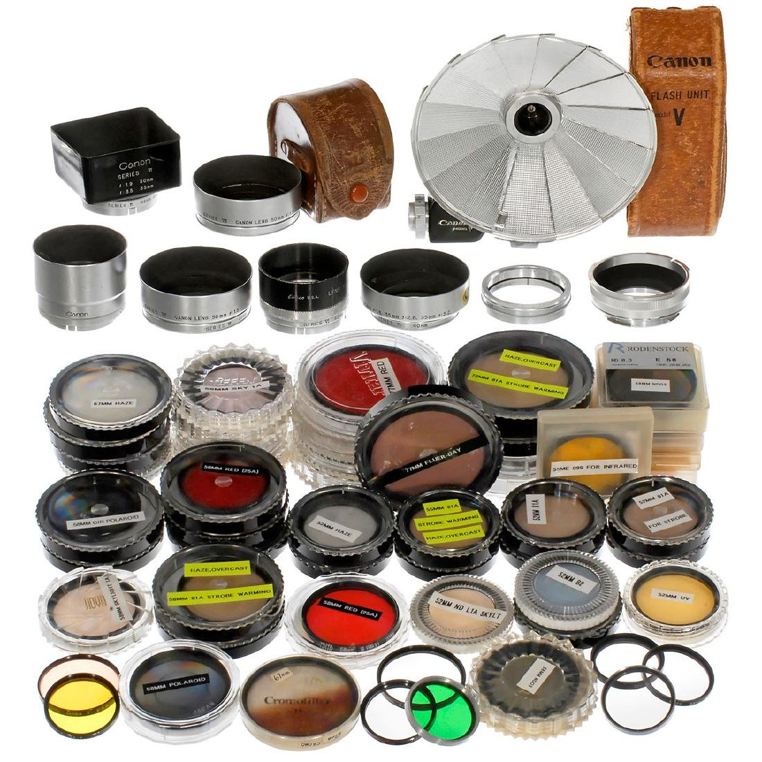 Large Lot of Filters and Accessories - 2